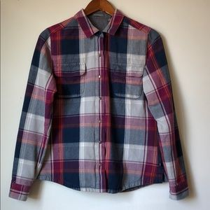 Toad & Co Organic Cotton Flannel Overshirt